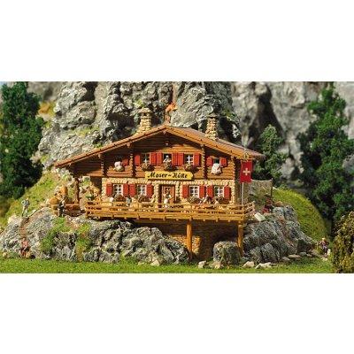 Modélisme HO : Refuge de haute montagne Chalet Moser - Faller-130329