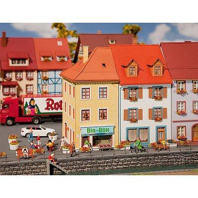 Modélisme HO : 2 maisons de petite ville - Faller-130496