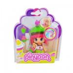 Poupée 7 cm Pinypon : Cupcake vert et marron