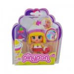 Poupée 7 cm Pinypon : Cupcakes : blanc et jaune