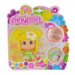 Poupée 7 cm Pinypon : Parfumée : Blonde avec fleur blanche