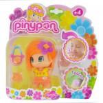 Poupée 7 cm Pinypon : Parfumée : Cheveux oranges