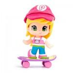 Poupée 7 cm Pinypon : Sportive : Skate