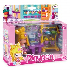 Poupée 7 cm Pinypon : Stand d'accessoires fashion