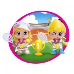 Poupées 7 cm Pinypon : Sportifs et vainqueurs : Tennis