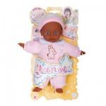 Poupon à fonctions Babyland 25 cm : Bébé noir pyjama rose