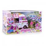 Véhicule Pinypon avec figurine et accessoires : Le van