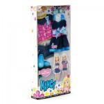 Vêtements pour poupée Nancy : Robe + Short + Tee-Shirt