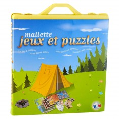 Mallette jeux et puzzles