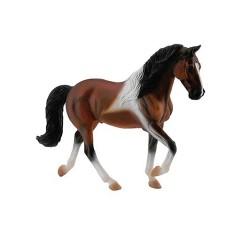 Figurine Cheval Tennessee Walking Horse : Etalon Bai tâché