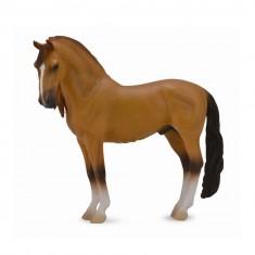 Figurine Cheval : Etalon Campolina red dun