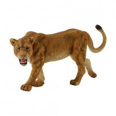 Figurine Lionne rugissant