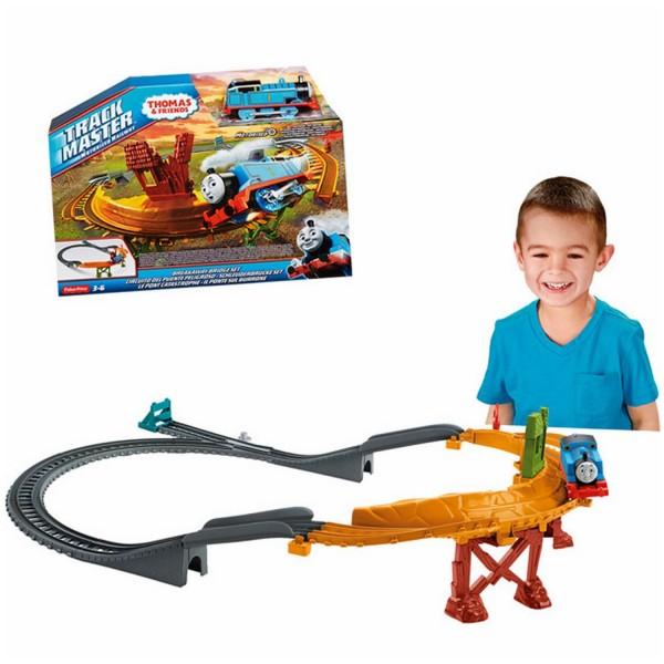 Circuit de train danger sur le pont thomas et ses amis jeux et jouets fisher price avenue - Train thomas et ses amis ...