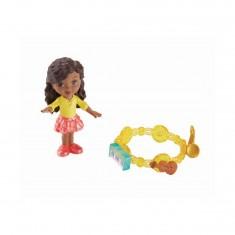 Figurine Dora and Friends : Emma Aventure Magique et charms