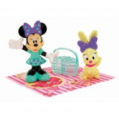 Figurine Minnie en pique-nique