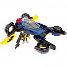 Véhicule Batman Imaginext DC Super Friends : Batmobile transformable