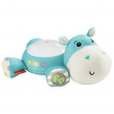 Veilleuse avec projecteur d'étoiles : Hippo Douce Nuit