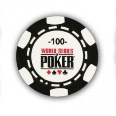 25 jetons de poker : 100
