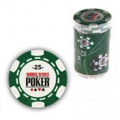 25 jetons de poker : 25