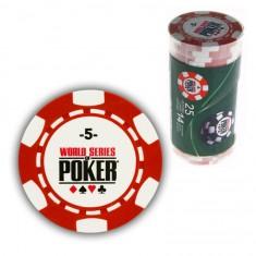 25 jetons de poker : 5