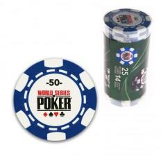25 jetons de poker : 50