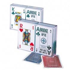 Jeu de 54 cartes Coffret Bridge Optic : Export