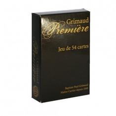 Jeu de 54 cartes Grimaud Première : Noir