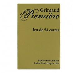 Jeu de 54 cartes Grimaud Première : Or