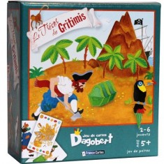 Jeu de cartes Dagobert : Le trésor du Gritimis