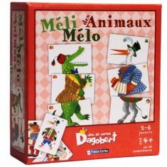 Jeu de cartes Dagobert : Méli-Mélo des animaux