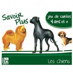 Jeu de cartes Savoir Plus : Les chiens