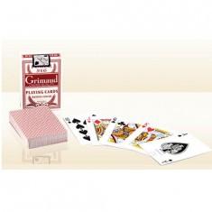 Jeu de poker Grimaud Poker 516 : Rouge