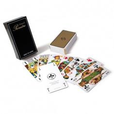 Jeu de Tarot Grimaud Première : Coffret laqué 78 cartes