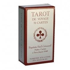Jeu de Tarot de voyage Qualité Grimaud : 78 cartes