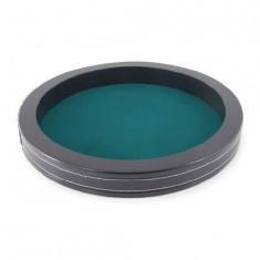 Piste de dés ronde Façon cuir noir : Ø 30 cm