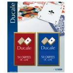 Set 2 jeux de 54 cartes