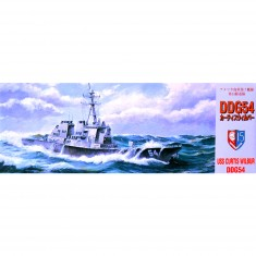 Maquette bateau : Destroyer USS Curtis Wilbur DDG54