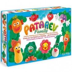 Pâte à modeler Patarev family : 8 pots