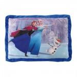 Coussin rectangle Disney : La Reine des Neiges : Anna, Elsa et Olaf