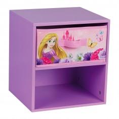 Table de chevet avec tiroir Princesses Disney
