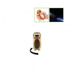 Lampe torche dynamo Ecotronic : Chien