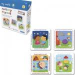4 puzzles - Avec ses amis