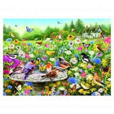 Puzzle 100 pièces XXL : Greg Giordano : Le jardin secret