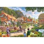 Puzzle 100 pièces XXL : La vie rurale
