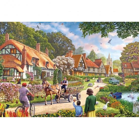 Puzzle 100 pièces XXL : La vie rurale - Gibsons-G2208