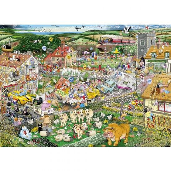 Puzzle 1000 pièces - J'aime l'été - Gibsons-G7021