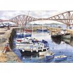 Puzzle 1000 pièces - Port de pêche de Queensferry