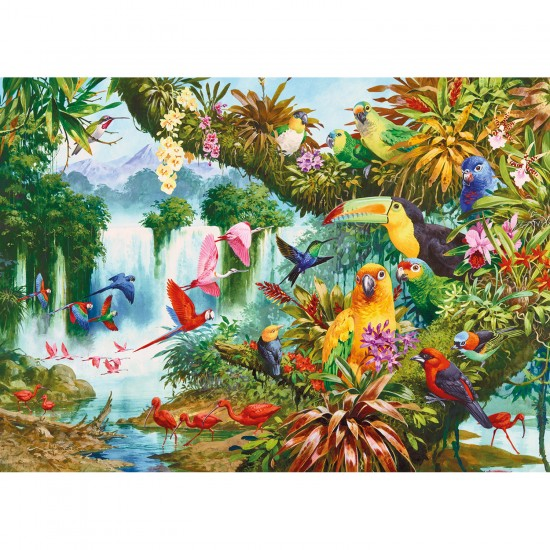 Puzzle 1000 pièces : Amis exotiques - Gibsons-G6167