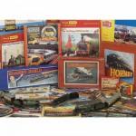 Puzzle 1000 pièces : Chemins de fer