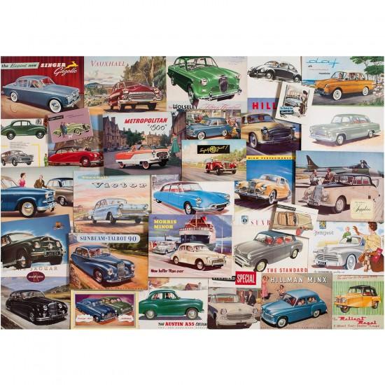 Puzzle 1000 pièces : Grands classiques de l'automobile - Gibsons-G7052